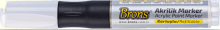 Akrylový popisovač BRONS 4mm - 1ks
