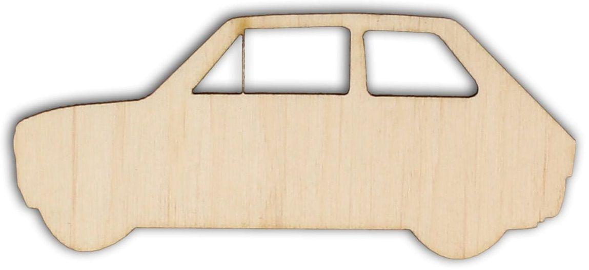 Dekorace dřevěná AUTO 90x40mm - 1ks