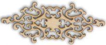 Dekorace dřevěná ORNAMENT 70x27mm