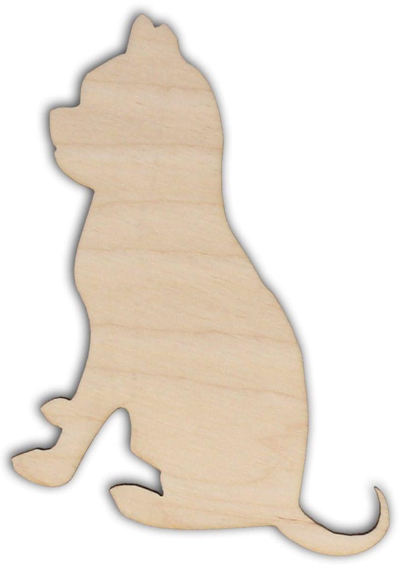 Dekorace dřevěná ŠTĚNĚ 100x97mm - 1ks