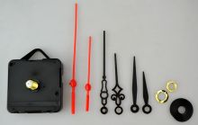 Hodinový strojek ozdobné a rovné ručičky 56x56x16mm - 1ks