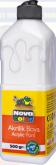 Akrylová barva bílá NOVACOLOR 500ml