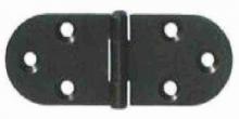 Pant masiv na krabičky ozdobný ČERNÝ 45x30mm - 1ks