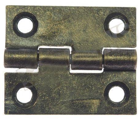 Pant na krabičky obdélník antik bronz 19x14mm - 1ks