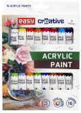 Sada akrylových barev EASY 16x12ml