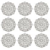 Dekorace filigránová ORNAMENT patina 35,5m - 1 ks