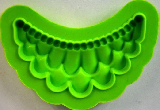 Forma silikonová ROHOVÝ ORNAMENT 9,5x8cm