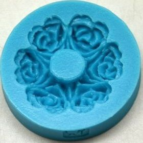 Forma silikonová RŮŽIČKY 3,5cm