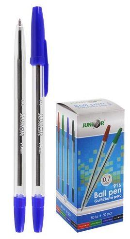 Jednorázové kuličkové pero 0,7mm - 1ks