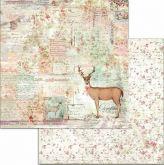 Kreativní oboustr.papír JELEN 190g/m2 - 30,5x30,5cm