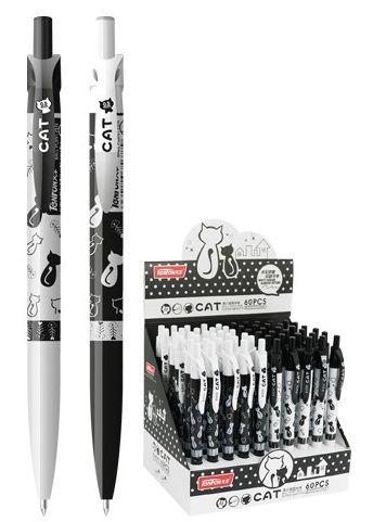 Kuličkové pero KOČKY 0,5mm - 1ks