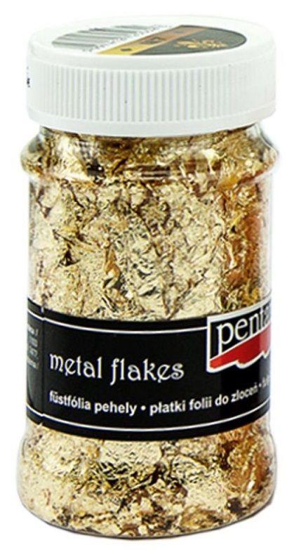 Metalické lupínky ZLATO ke zlacení M7 - 100nl