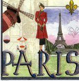 Ubrousek 33x33 PAŘÍŽ