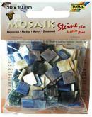 Mozaika MRAMOR modrý 10x10mm