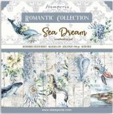 Sada oboustranných papírů ROMANT.SEA DREAM190 g/m2 20,3x20,3cm - 10ks