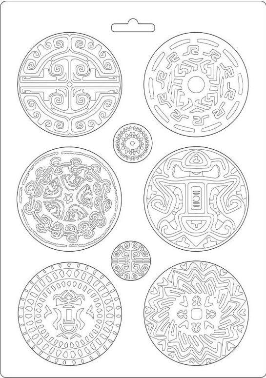 Forma na odlévání AMAZONIA TRIBAL 21x30 cm Stamperia