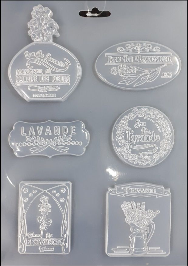 Forma na odlévání LEVANDULE 21x30 cm Stamperia