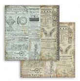 Sada oboustranných papírů SIR VAGABOND190 g/m2 30x30cm - 10ks