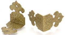 Ozdobné kování na krabičky PŘEZKA 25,5x17x25,5mm - 1 ks