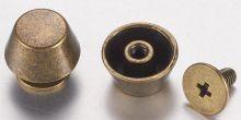 Ozdobné kování na krabičky barva antik bronz ÚCHYTKA 11mm -1ks/3části/