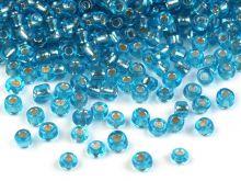 Modrá azurová