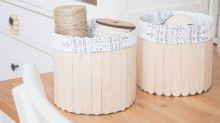 Dřevěné špachtličky barevné 11,4 x 1cm - 50ks