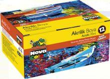 Sada akrylových barev NOVA COLOR 12 x30ml
