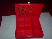 krabička na čaj - vánoční motiv (uvnitř)
