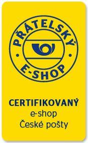 Certifikovaný eshop České Pošty